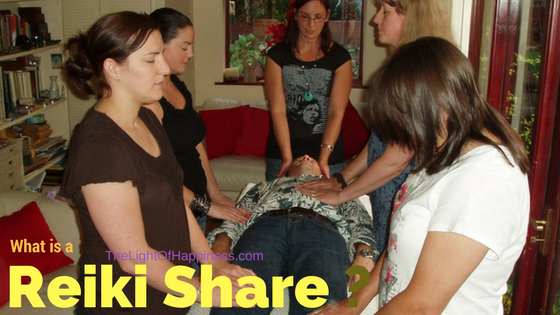 What is a Reiki share