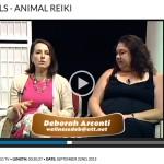"""Animal Reiki Video: Nutmeg TV """"Cat Tails"""" with Deborah Arconti"""