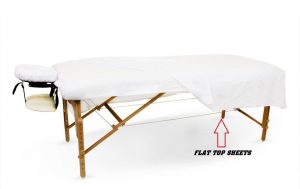 12 New White Massage Table Flat Draw Sheet Muslin GT