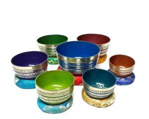 Chakra Healing Tibetan Singing Bowls Set 7 A B C D E F G Chakras Nepamart Review