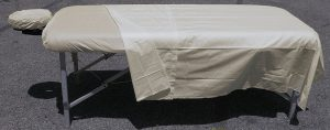 Deluxe Poly Cotton Massage 3 Piece Sheet Set