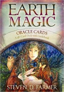 Earth Magic Oracle Cards 48 Card Deck Guidebook Steven D Farmer Review