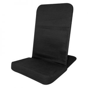 Portable Floor Chair Memory Foam Seat Folding Chair Adjustable Back BJ Industries Review
