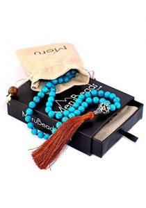 Premium Mala Beads Necklace Buddhist Prayer Beads Meditation MeruBeads