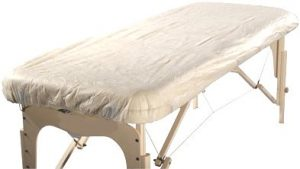 Therapists Choice Waterproof Fitted Disposable Massage Table Sheet