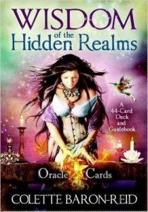 Wisdom Hidden Realms Oracle 44 Card Deck Guidebook Colette Baron Reid Review