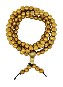 Yoga Brass Tone Tibetan Prayer Beads Mandala Crafts Review