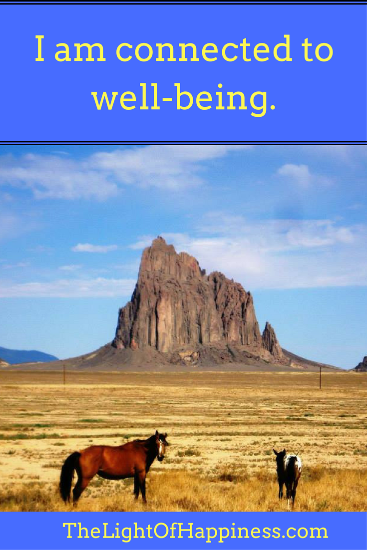 I Am Connected to Well Being