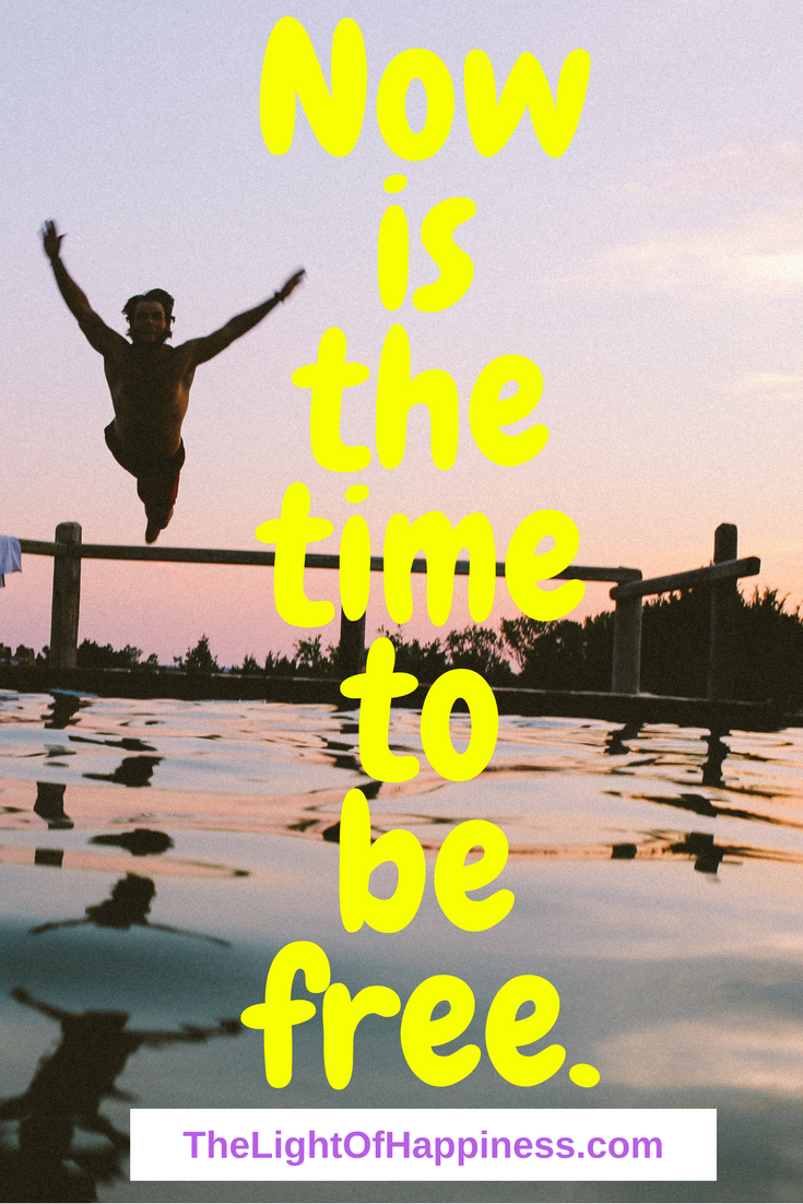 Now is the Time to Be Free