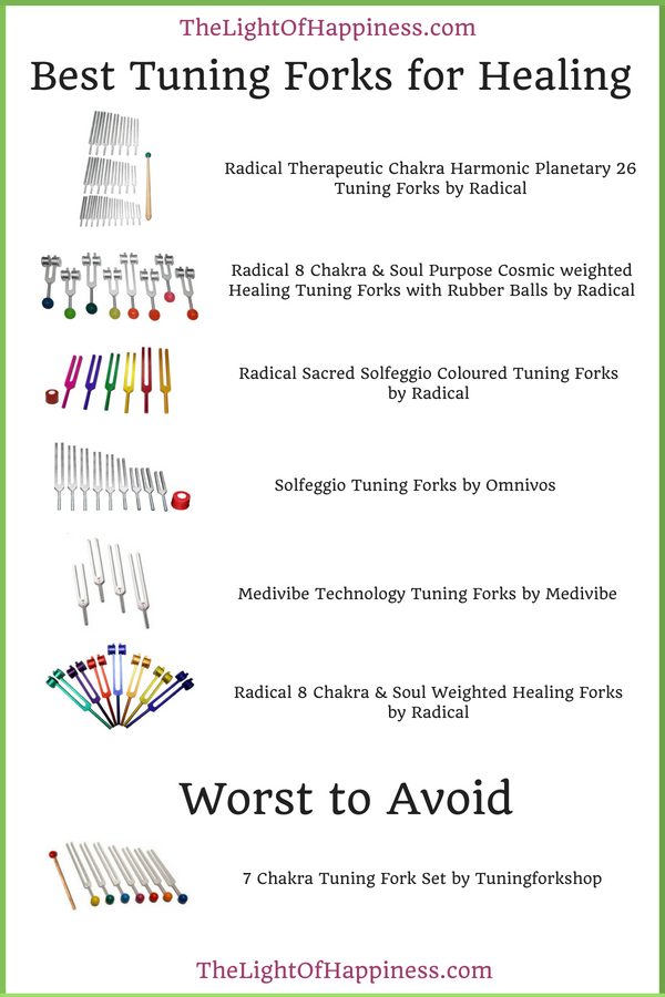 Best Tuning Forks for Healing