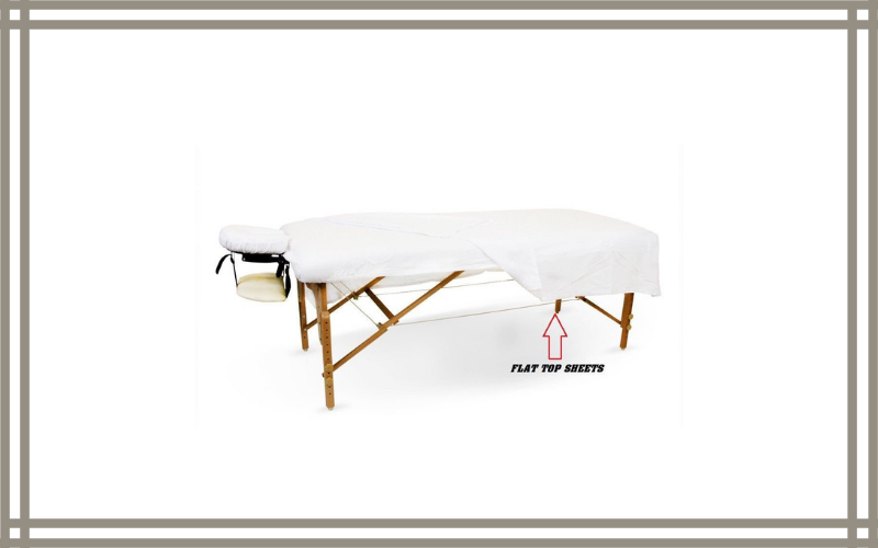 12 New White Massage Table Flat Draw Sheet Muslin T130 54×80 – Omni Linens Review