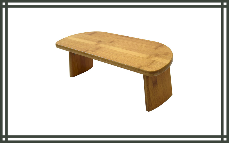 Bamboo Meditation Kneeling Bench By Bean Products Review