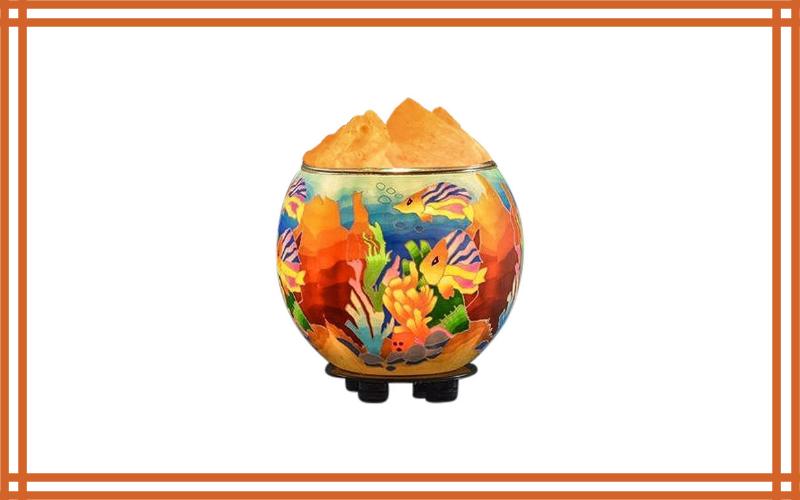 Himalayan Crystallitez Natural Himalayan Salt Lamp In A Handcrafted And Unique Artisan Bowl, Natural Air Purifier And Aromatherapy Salt Lamp Review