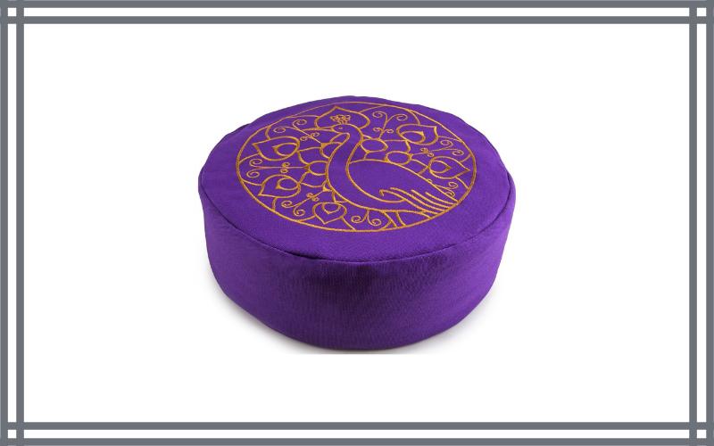 Peace Yoga Zafu Meditation Buckwheat Filled Cotton Bolster Pillow Cushion By Peace Yoga Review