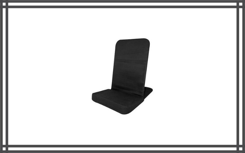 Portable Floor Chair, Memory Foam Seat, Folding Chair Bj Industries Review