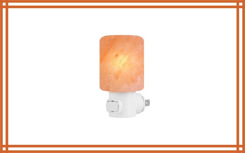 Syntus Himalayan Salt Lamp Natural Crystal Salt Light Glow Hand Carved – Night Lights Wall Light Review