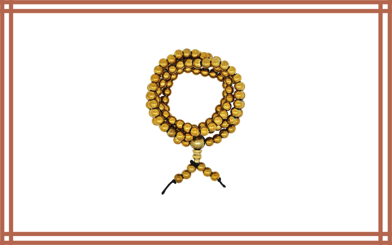 Yoga Brass Tone Tibetan Prayer Beads Review