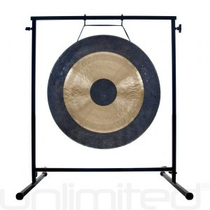 """20″ to 26″ Gongs on the Fruity Buddha Gong Stand: 20"""" Heng Gong Review"""
