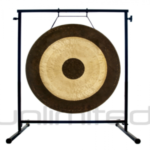 """20″ to 26″ Gongs on the Fruity Buddha Gong Stand: 26"""" Chau Gong Review"""