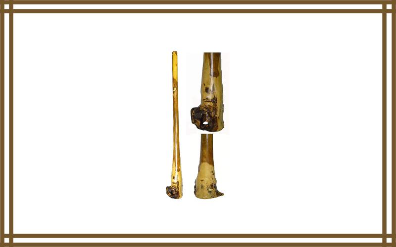 60″ Djembe Bongo Hand Carved Out Of Eucalyptus African Didgeridoo Didjeridu Aboriginal Dot Art Design Review