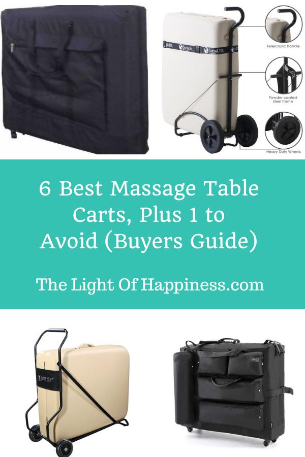 Best Massage Table Cart