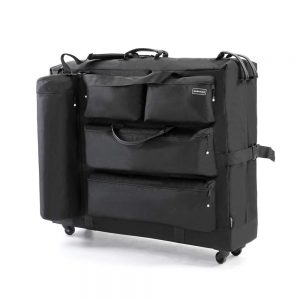 DR.LOMILOMI Massage Table Carry Case Bag with Wheels Review