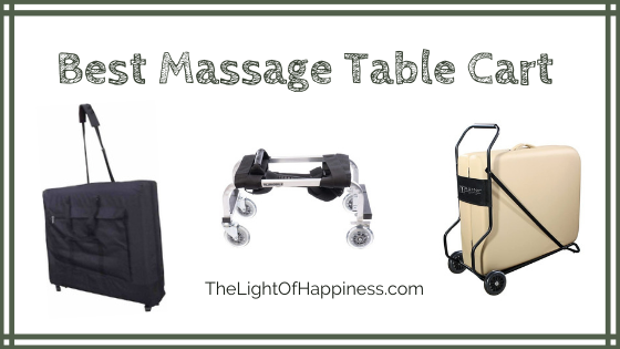 Massage Table Cart