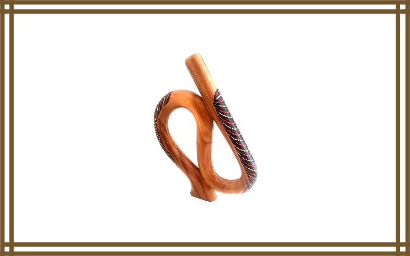 S Shaped Didgeridoo Solid Mahogany Wood Didgeridoo Review