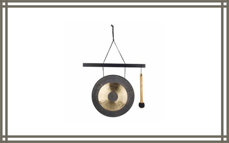 Woodstock Chimes Hcgongm The Original Guaranteed Musically Tuned Chime Medium Hanging Gong Quintet Chau Review