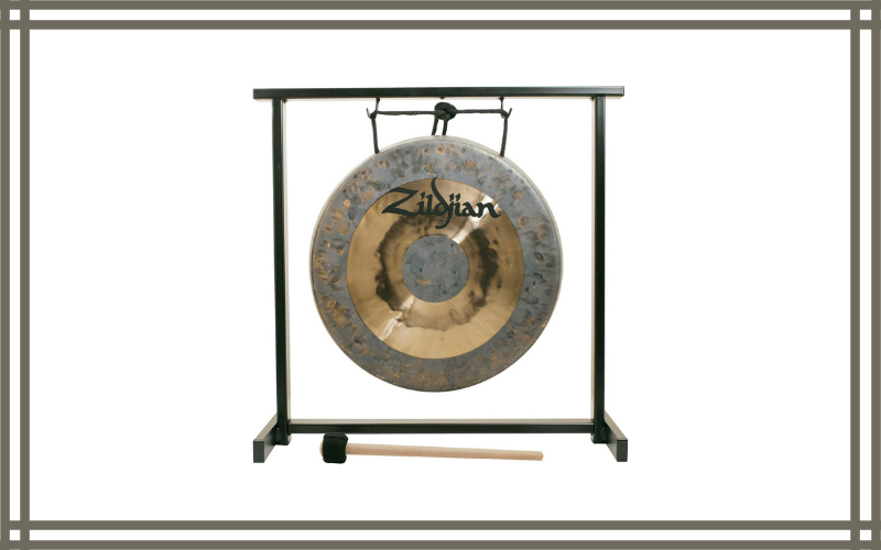 "Zildjian 12"" Table Top Gong And Stand Set Review"