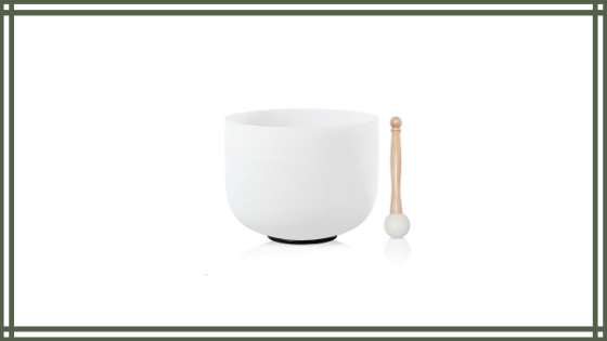 CVNC 12″ B Note Crown Frosted Quartz Crystal Singing Bowl Review