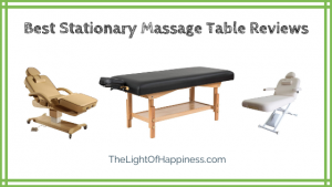 Best Stationary Massage Table Reviews