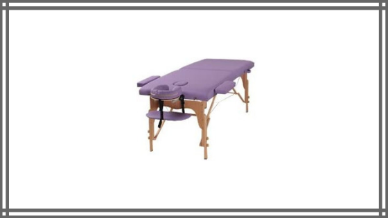 Heaven Massage Table Reviews: The Best Massage Two Fold Purple Portable Massage Table Review