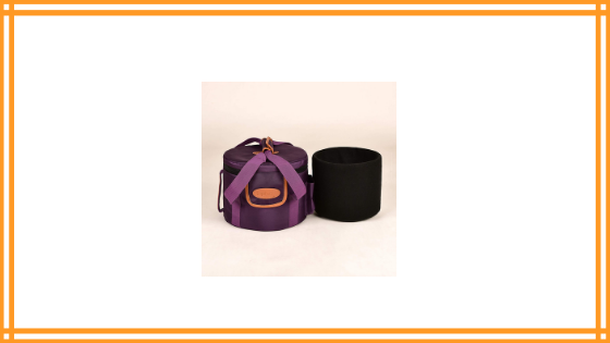TOPFUND Violet Heavy Duty Crystal Singing Bowl Case Review