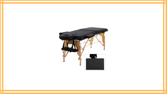 Dkeli Portable Massage Table Spa Bed Folding Review