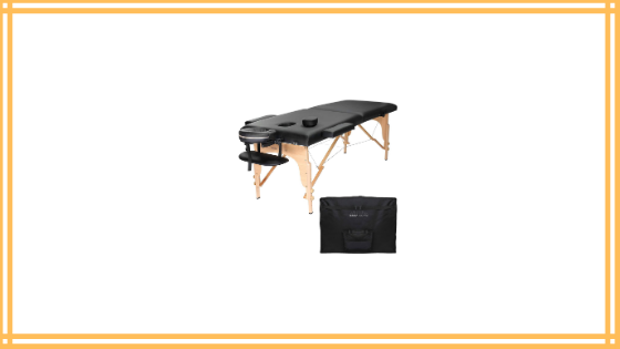 Saloniture Professional Portable Folding Massage Table with Carrying Case Review