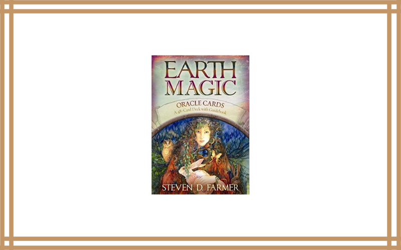 Earth Magic Oracle Cards: A 48-Card Deck and Guidebook – Steven D. Farmer
