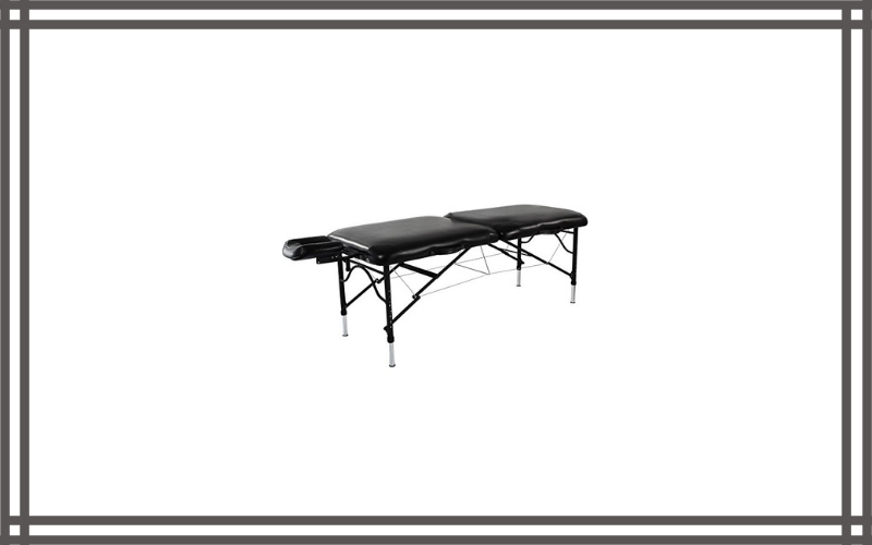 Master Massage Stratomaster Ultralight Portable Black Massage Table