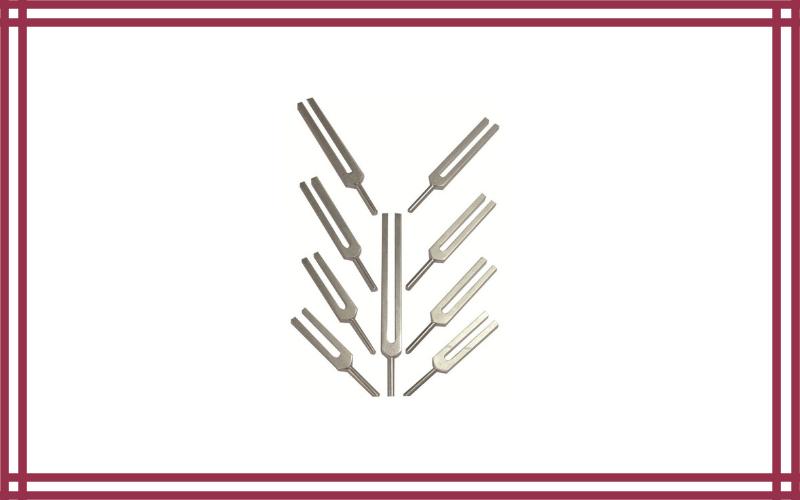 Nine Sacred Solfeggio Tuning Forks by Tuningforkshop