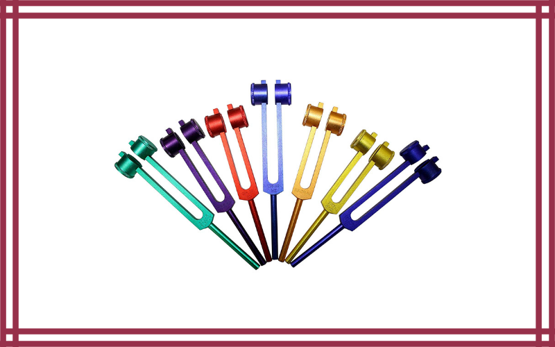 Radical 8 Chakra & Soul Weighted Healing Forks by Radical