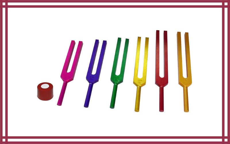 Radical Sacred Solfeggio Coloured Tuning Forks by Radical