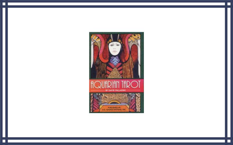 The Aquarian Tarot Deck Cards by Palladini David